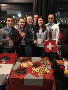 Unsere Delegates vertreten die Schweiz.